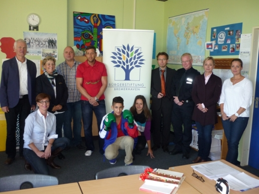 3.000 Euro für Gewaltpräventionsprojekte an der Georg-Büchner-Schule I und dem Schulzentrum Carl-von-Ossietzky für eine nachhaltig gewaltfreie Schule