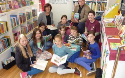 Bürgerstiftung Bremerhaven spendiert Lesestoff am 23. April 2014 – Welttag des Buches